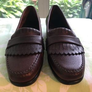 Dexter beautiful leather loafers Womens size 8.5W